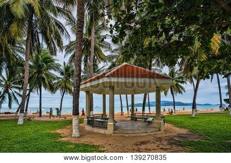 Guest Houses Among Palm Trees, Vietnam