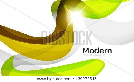Colorful swirl shape abstract futuristic design background