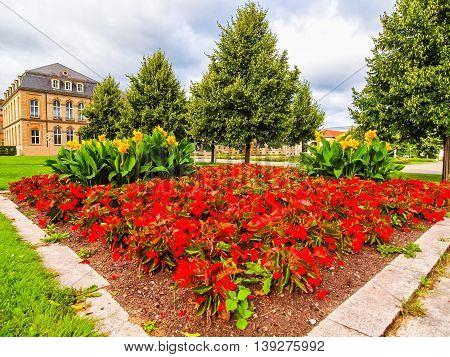 Gardens In Stuttgart Germany Hdr