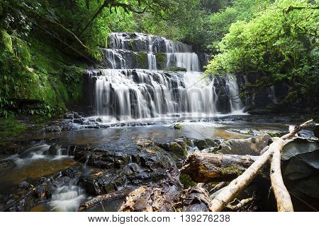 Beautiful waterfall and important source for fresh water.