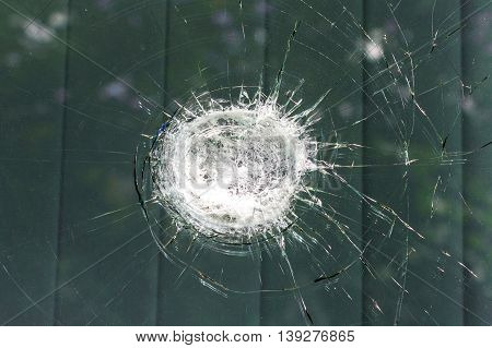 smashed window / broken glass - smashed window / broken glass