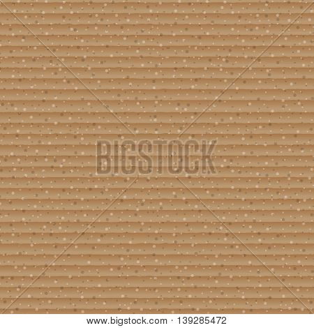 Abstract brown cardboard texture background, stock vector