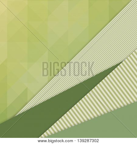 Unusual modern material design vector background with mosaic. Geometric shapes. Eps10 vector illustration