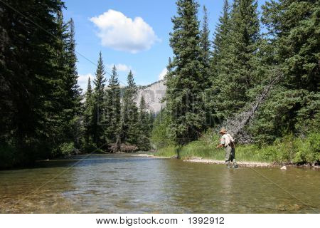 Fishing In The Mountains
