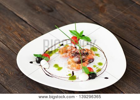 Food Seafood Restaurant Menu Mediterranean Decor Advertising Service Cuisine Gourmet Concept