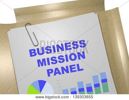 Business Mission Panel Concept