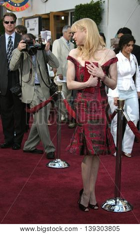 Renee Zellweger at the Los Angeles premiere of 'Cinderella Man' held at the Gibson Amphitheatre at Universal City in Hollywood, USA on May 23, 2005.