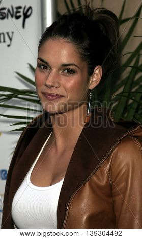 Missy Peregrym at the Hollywood's Helping Hands art auction held at the Avalon Theater in Hollywood, USA on June 2, 2005.