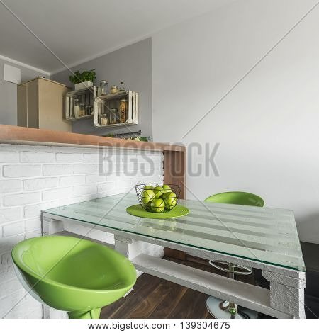 Small And Creative Dining Area