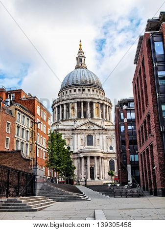 St Paul Cathedral, London Hdr