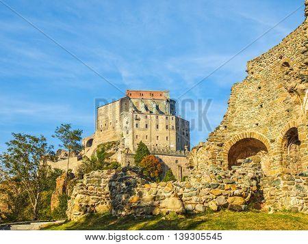 Sacra Di San Michele Abbey Hdr