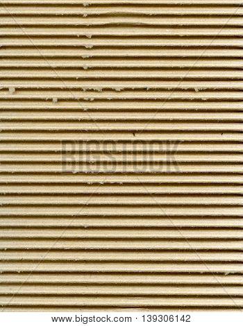 Ribbed Cardboard Background