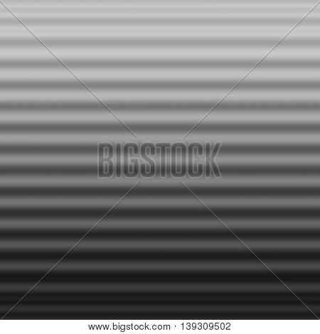 Gray corrugated surface abstract background - wavy background