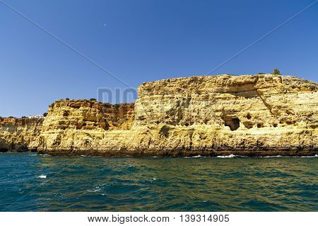 Beautiful Landscape With Rocky Ocean Shore