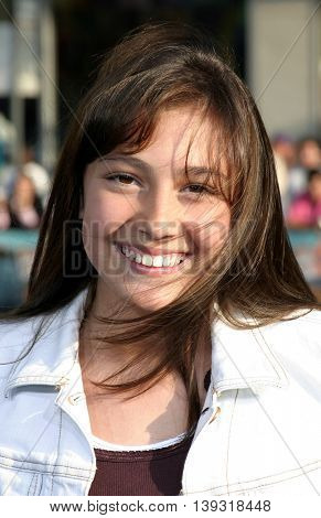 Taylor Dooley at the Los Angeles premiere of 'Sisterhood of the Traveling Pants' heldat the Grauman's Chinese Theatre in Hollywood, USA on May 31, 2005.