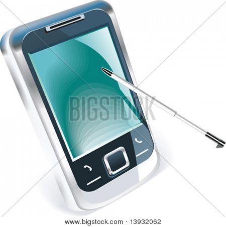 Vector PDA icon