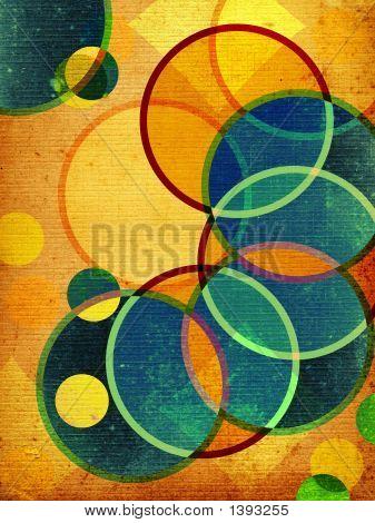 Abstract Retro Shapes