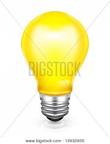 Bombilla de luz de malla