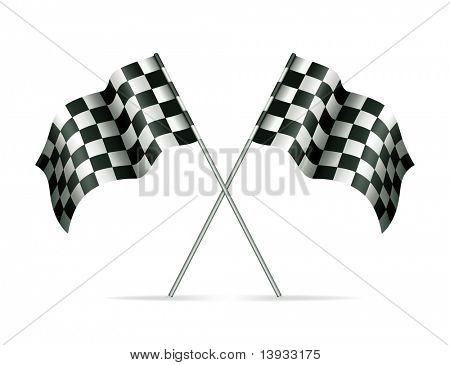 Racing flags, mesh
