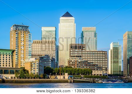 Canary Wharf In London During Daytime