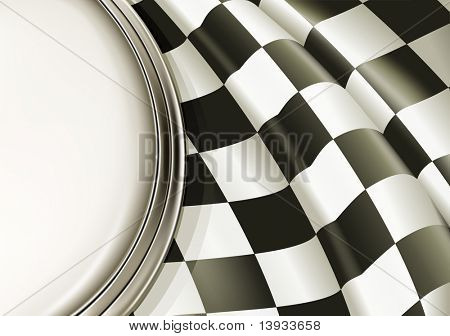 Vector Checkered Background