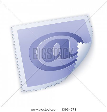Postage Stamp, vector