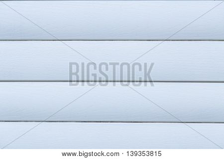 Blue wood texture background of a house wall