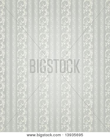 Striped wallpaper pattern, vector