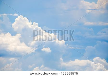 Clear blue sky with cloudy as a background wallpaper pastel sky wallpaper