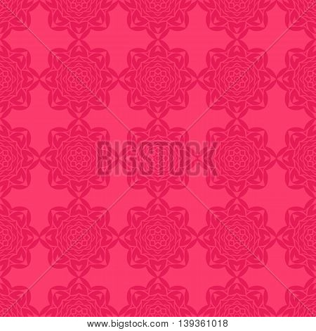 Oriental seamless geometric pattern. Ornamental texture. Floral elements. Vector abstract background. Arabic Islamic asian indian native motifs.
