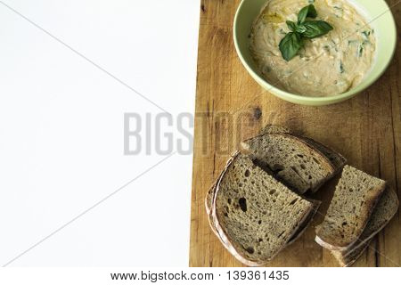 Slovak spread made from sheep cheese called