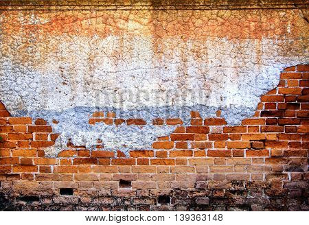 old brick wall texture for background design