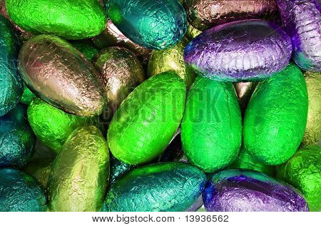 Shiny Easter Eggs