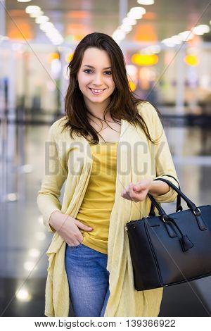 Pretty Cheerful Woman