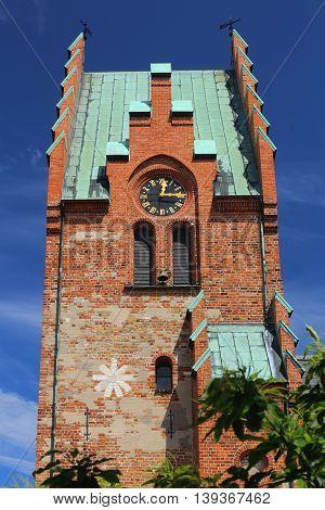 St. Nicholas Church In Trelleborg In Sweden