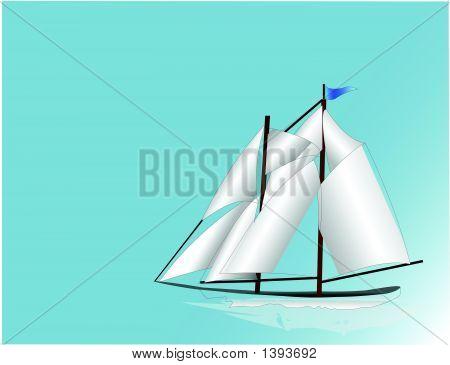Sail Boat.Eps
