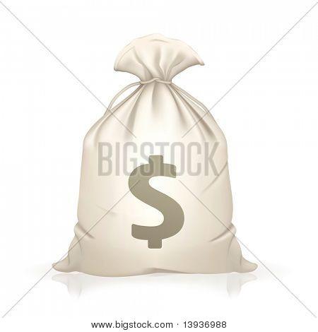 Money Bag, bitmap copy
