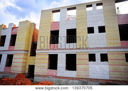 Construction Of Brick House
