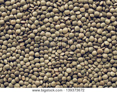 Lentils Picture Vintage Desaturated