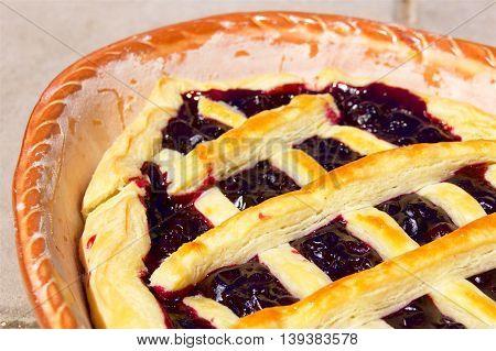 Sweet American Pie a homemade cute desert