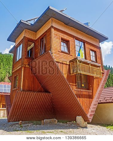 Inverted Home In Carpathian