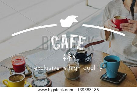 Cafe Coffee Breakfast Chilling Out Concept