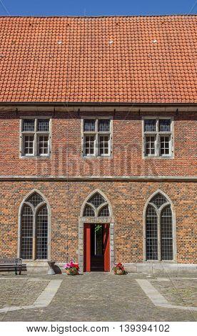 Courtyard Of The Monastery Frenswegen Near Nordhorn
