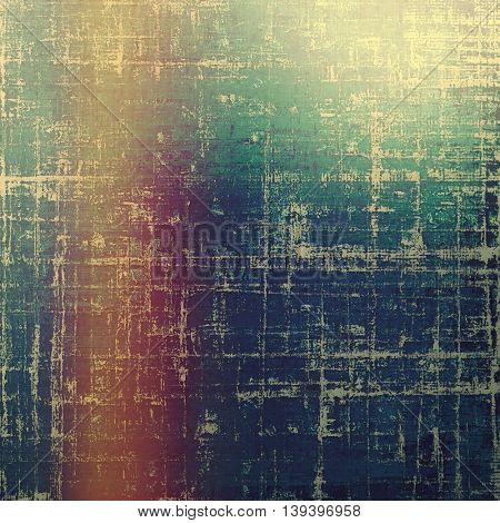 Veined grunge background or scratched texture with vintage feeling and different color patterns: yellow (beige); brown; green; blue; red (orange); purple (violet)