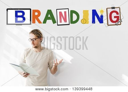 Brand Branding Project Goals Word Concept