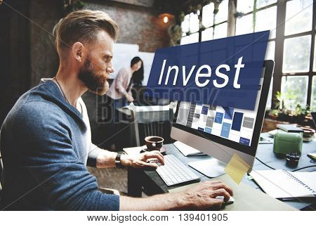 Invest Assets Banking Economy Financial Profit Concept