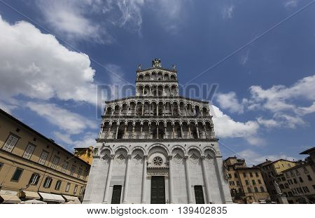 Lucca Saint Martin Duomo Cathedral, Lucca, Italy