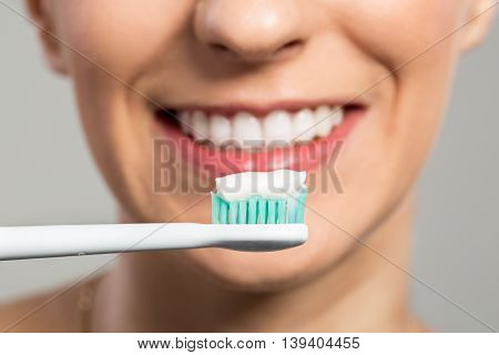 Ready For Clening Teeth