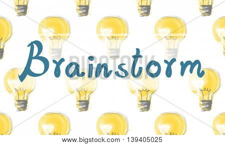 Brainstorm Ideas Plan Strategy Innovation Concept