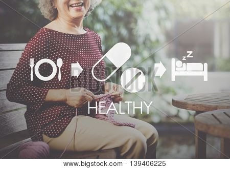 Healthy Medical Wellbeing Proper Care Concept
